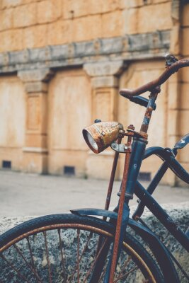 Papiers peints Vieux vélo rouillé