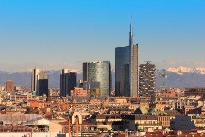 Papiers peints Views of Milan, Italy