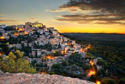 Papiers peints Village de Gordes en provence