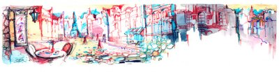Papiers peints ville