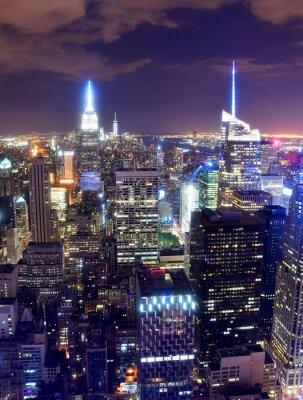 Papiers peints Ville de New York dans la nuit