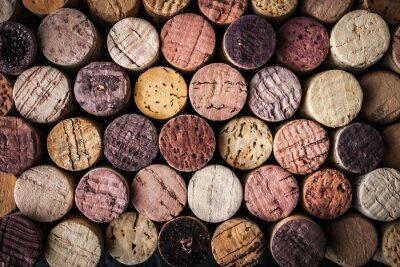 Papiers peints Vin, bouchons, fond, gros plan