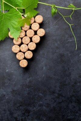 Papiers peints Vin, bouchons, raisin, FORME, vigne