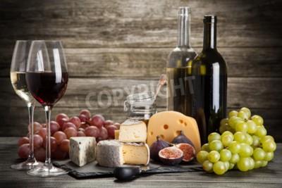 Papiers peints Vin, fromage, encore, vie