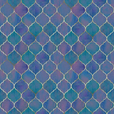 Papiers peints Vintage decorative grunge indian, moroccan seamless pattern