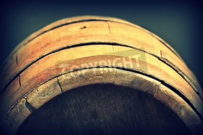Papiers peints Vintage photo de vieux baril en bois