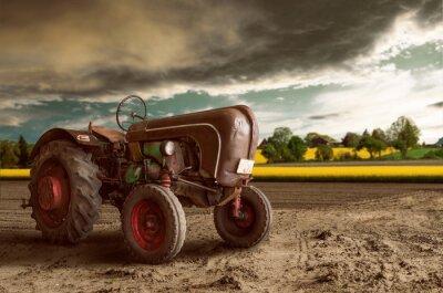 Papiers peints Vintage Tractor