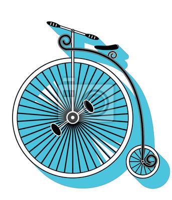 Vintage type de vélo 1