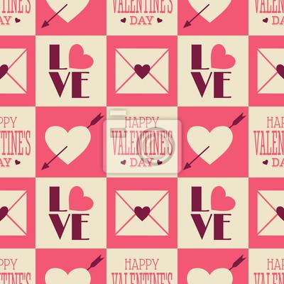 Vintage Valentine Seamless