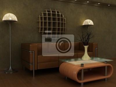 great papiers peints dun salon art dco de style noclassique with salon art deco