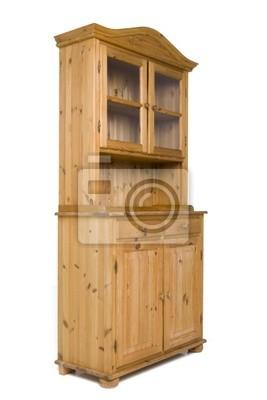 vitrine en bois