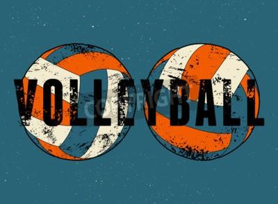 Papiers peints Voile de style typographique vintage grunge affiche de style. Rétro illustration vectorielle.