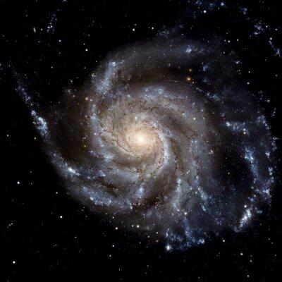 Papiers peints Voir l'image du système Galaxy isolé Éléments de cette image fourni par la NASA