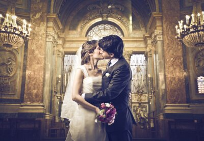 Papiers peints Vous pouvez embrasser la mariée