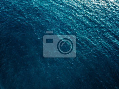 Papiers peints Vue aérienne, de, bleu, surface mer