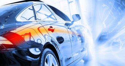 Papiers peints Vue arrière de la voiture de luxe