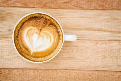 Papiers peints Vue, coeur, composé, café