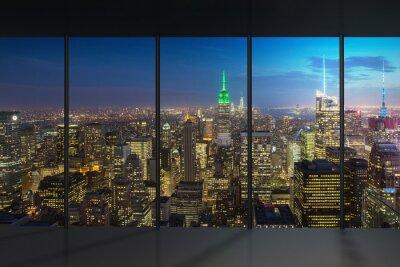 Papiers peints Vue de nuit de New York