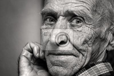 Papiers peints Vue du vieil homme