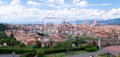 Papiers peints Vue panoramique de Florence DEPUIS de la place Michel-Ange