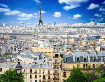 Papiers peints Vue panoramique de Paris