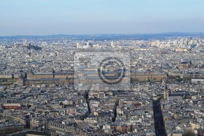 Papiers peints Vue panoramique de Paris DEPUIS la tour Montparnasse