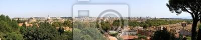 Papiers peints Vue panoramique de Rome - Italie