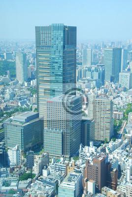 Papiers peints Vue panoramique de Roppongi, Tokyo