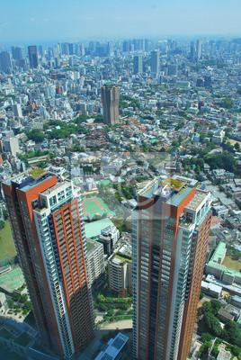 Papiers peints Vue panoramique de Tokyo