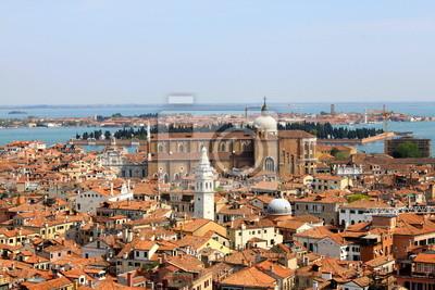 Papiers peints Vue panoramique de Venise DEPUIS le campanile de Saint-Marc