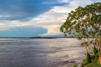 Papiers peints Vue sur la rivière Amazon