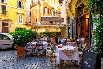 Papiers peints Vue, vieux, confortable, rue, roma, italie
