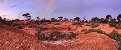 Papiers peints WA Balladonia Red Soil 2 Panorama
