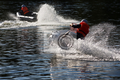 Water-sport automobile