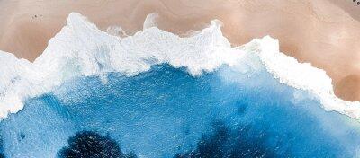 Papiers peints waves on the beach