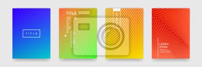 Papiers peints Wavy résumé modèle texture livre brochure affiche couverture modèle vecteur ensemble