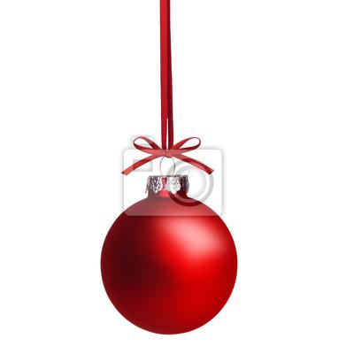 Weihnachtskugel Rote