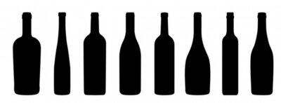 Papiers peints Weinflaschen Icônes
