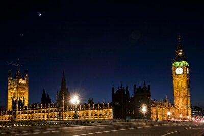 Papiers peints Westminster et le grand ben par nuit