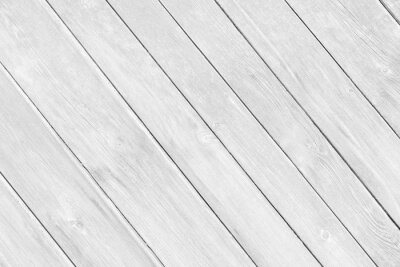 Papiers peints White gray wood plank texture surface as background