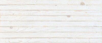 Papiers peints white wood texture background, top view wooden plank panel