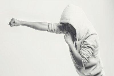 Papiers peints Women training punches