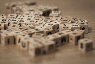 Papiers peints wooden cubes
