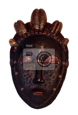 Papiers peints Woodoo masque africain