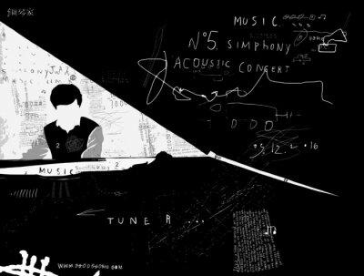 Papiers peints Пианист