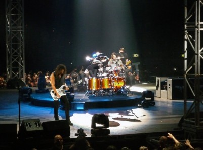 """Papiers peints Concert of the band """"Metallica"""", Rome 24 June, 2009. The stage"""