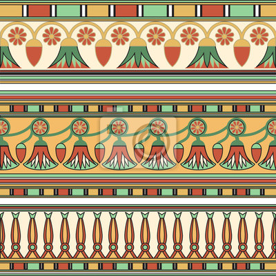 Ornement égyptien. Сollection. Illustration vectorielle