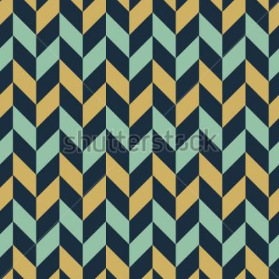 Papiers peints Zigzag coloré sans soudure chevron / chevrons de fond.