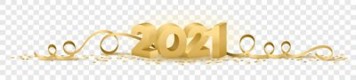Posters 2021 happy new year vector symbol transparent background isolated