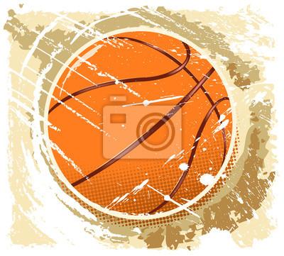 abstarct basket-ball